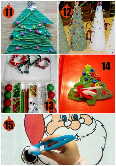 Christmas Fine Motor Skills Activities Mess For Less