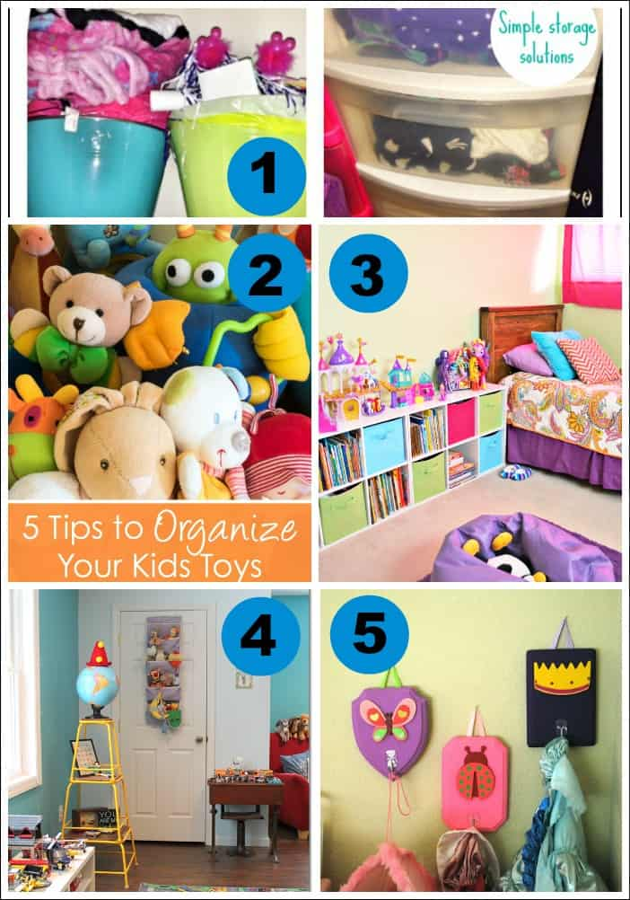 Kids Room Organization Tips Mess For Less