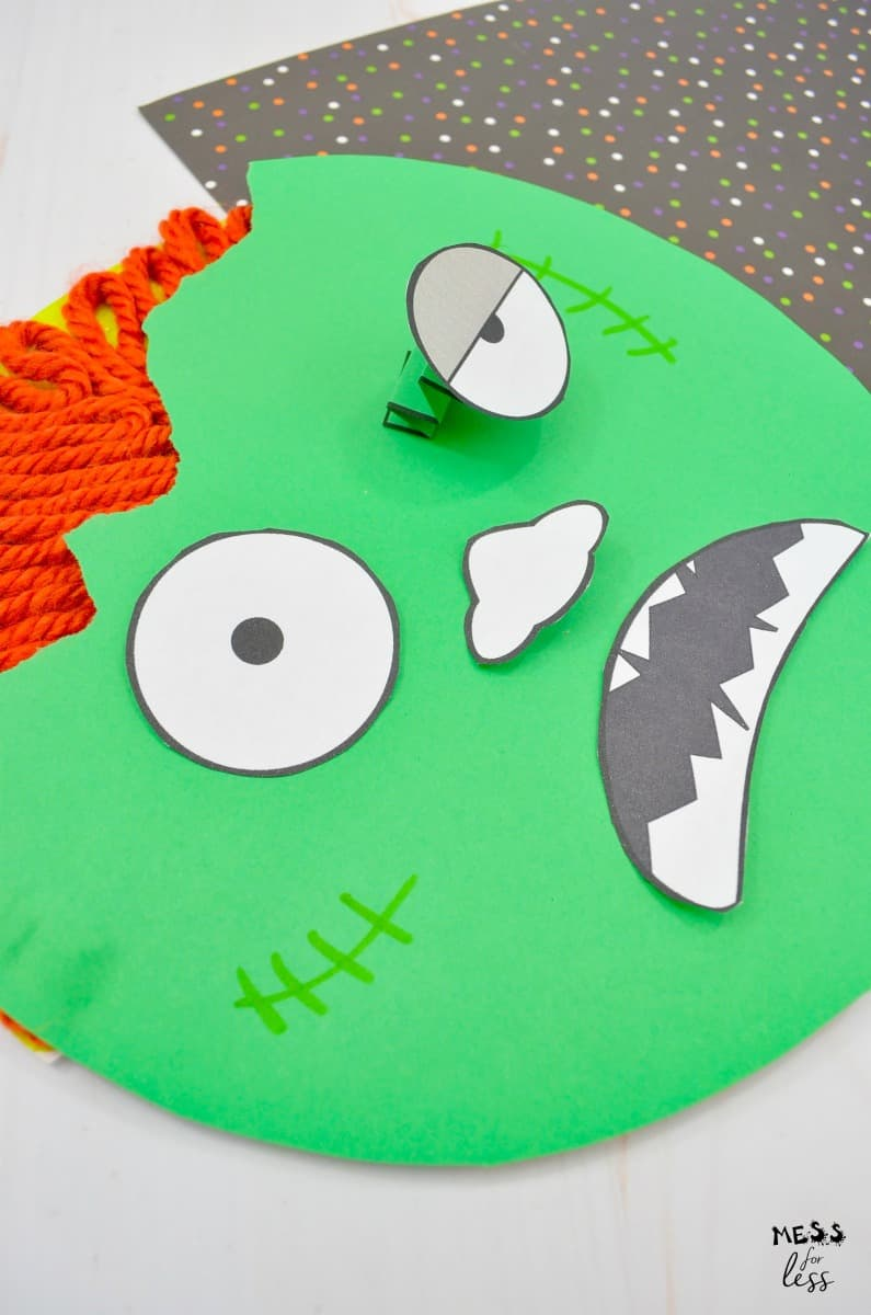 Zombie Craft For Kids Mess For Less