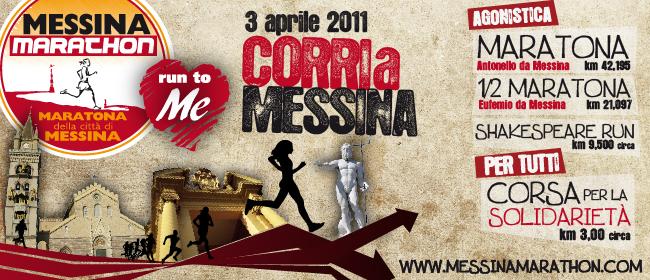 Ufficialmente aperta la IV ''Messina Marathon''. Chiuse le iscrizioni