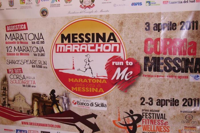 ''Messina Marathon'', tutte le info sulla viabilità