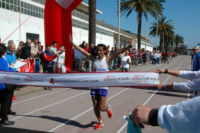 Adil Lyazali trionfa nella IV ''Messina Marathon''