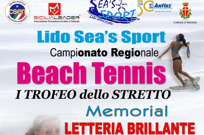 """Weekend con il """"I Trofeo dello Stretto - Memorial Letteria Brillante"""""""