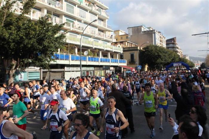 I preparativi per la Messina Marathon