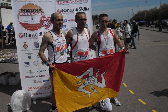 Attilio Alessandro vince la V Messina Marathon