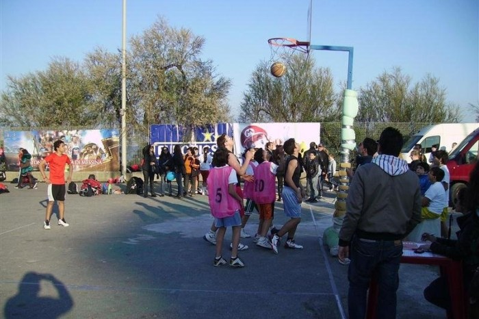 "Torneo di basket nel ""Marathon Village"" in Fiera"