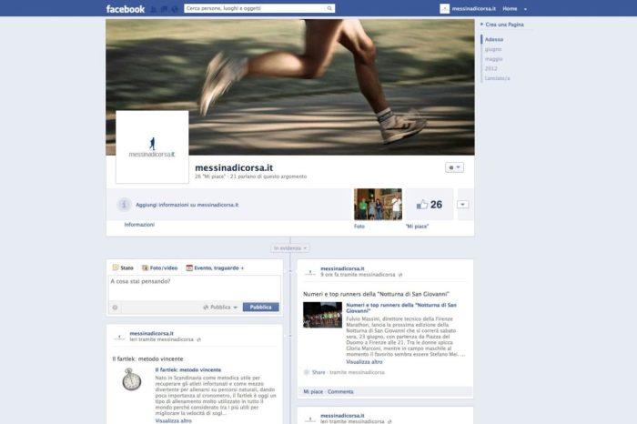 Messinadicorsa.it approda su Facebook