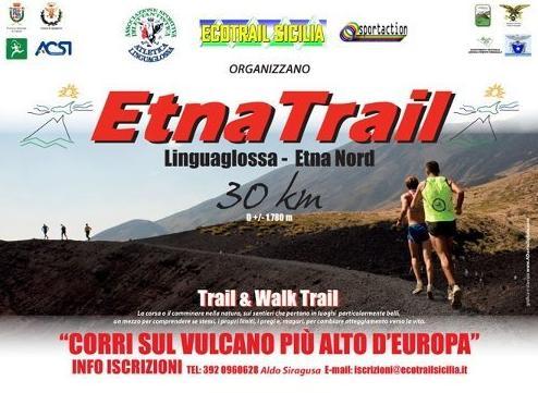 Tutto pronto per l'appuntamento con l'Etna Trail