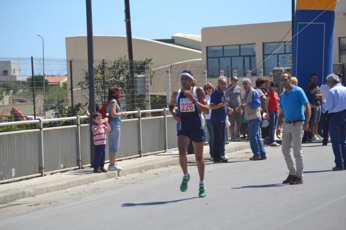 Ottimo Puccio alla Fiumicino Half Marathon