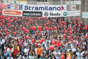 Partenza della Stramilano 2009 dei 50000