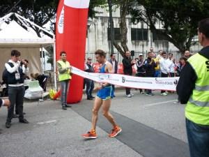 1. ARRIVO GIOVANNI SOFFIETTO (vincitore maratona)