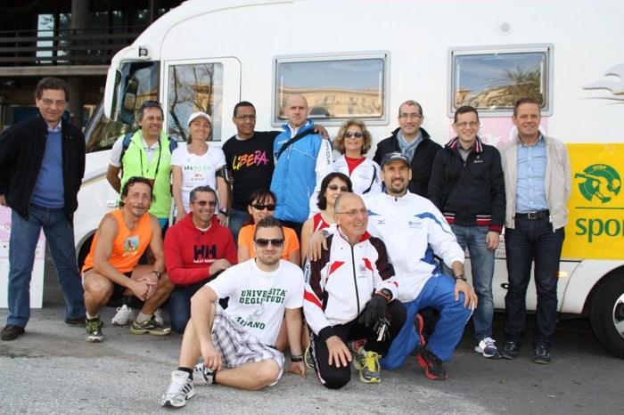"""""""21 volte donna-21 km in 21 giorni"""" a Palermo"""