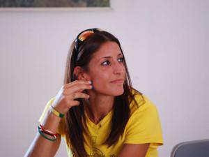 Simona La Mantia saluta prima dei Mondiali 20
