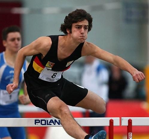 Biondo batte il record italiano Allievi nei 200 HS