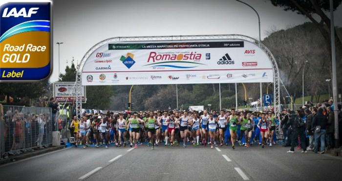 IAAF Gold Label per la 40^ RomaOstia
