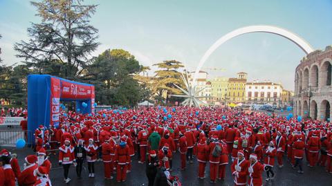 Verona Christmas Run: vince la solidarietà