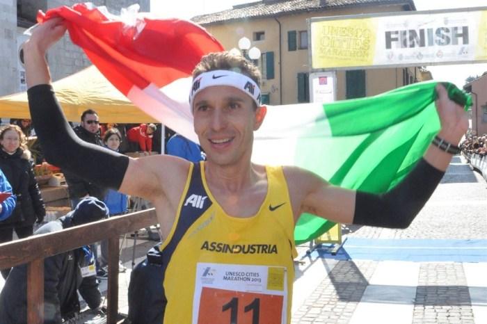 Pertile testimonial dell'Unesco Cities Marathon