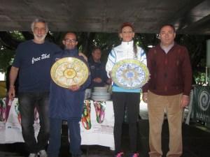 Vincitori con Accorinti e Boni (presidente Uisp Messina)
