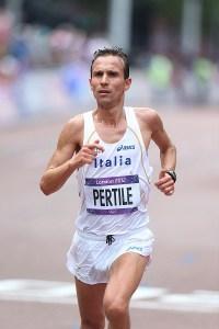 Ruggero Pertile all'Olimpiade di Londra