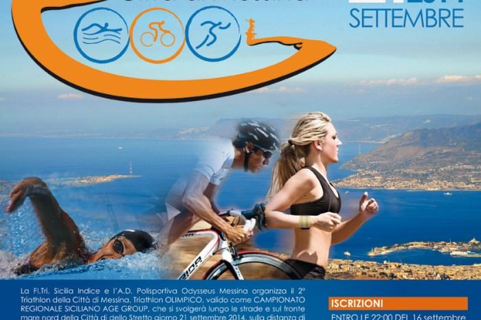 """Atleti diabetici al via del """"2° Triathlon della Città di Messina"""""""