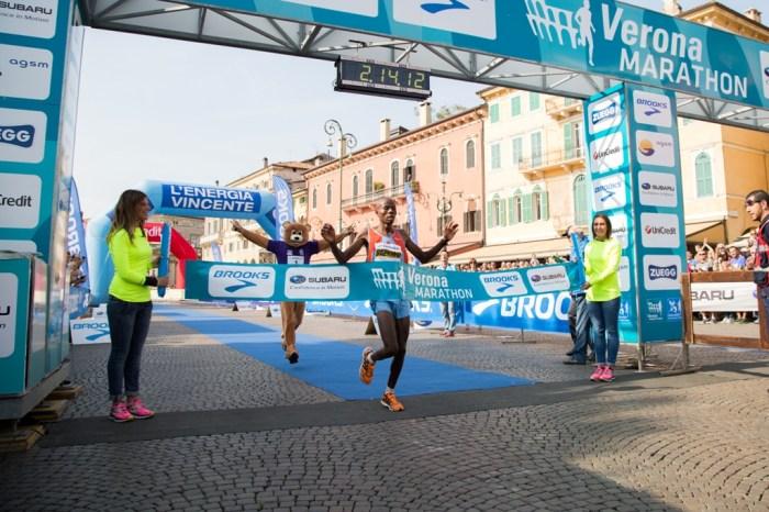 Il keniano Alex Saekwo e Erika Bagatin trionfano a Verona