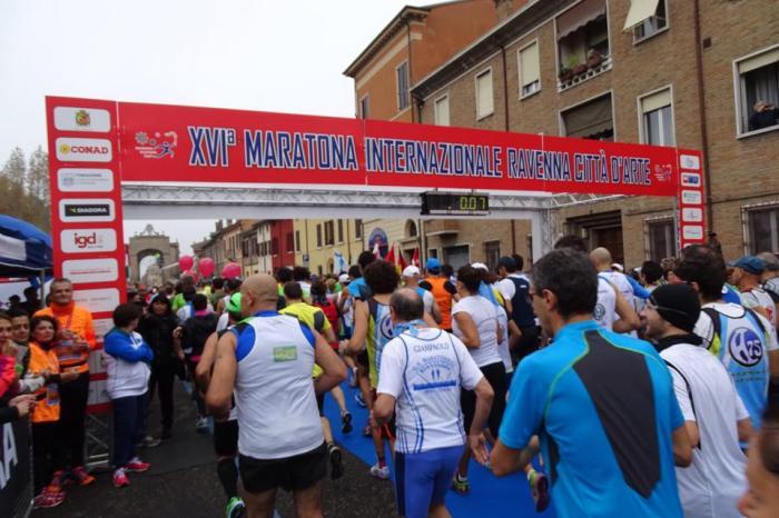 Maratona di Ravenna al russo Mikhail Bykov