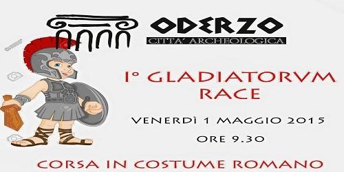 Oderzo, 1° maggio di corsa con i gladiatori