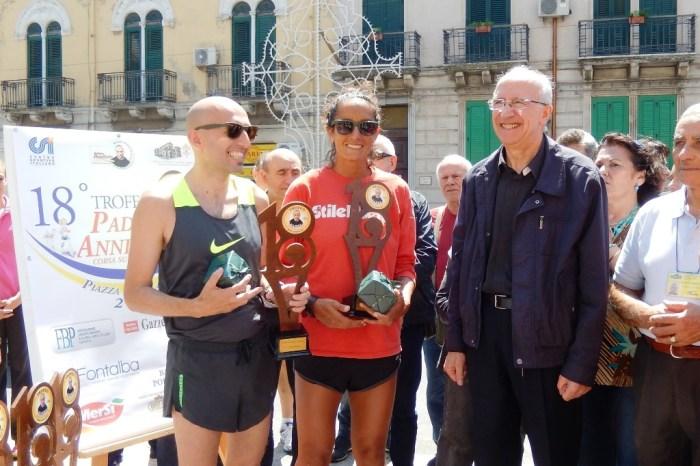"""Dario Bruneo e Katia Scionti vincono il """"Trofeo Padre Annibale"""""""