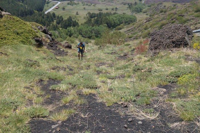 Tra i crateri del Vulcano va di scena l'EtnaTrail
