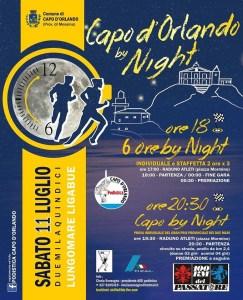 La locandina della Capo d'Orlando by Night
