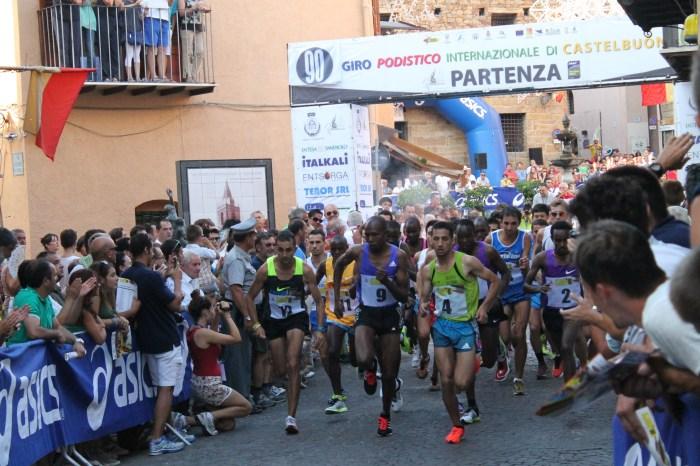 "Il keniano Geoffrey Korir vince il ""90° Giro di Castelbuono"""
