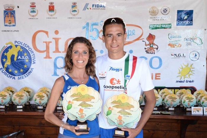 Giro podistico a tappe delle Isole Eolie 2015