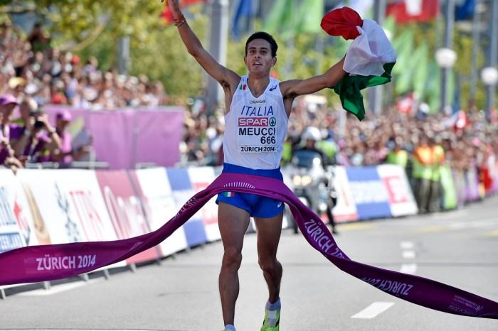 Meucci alla Maratona Internazionale di Roma