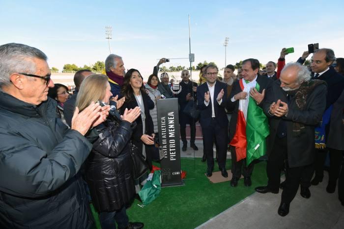 Inaugurata a Barletta la pista Pietro Mennea