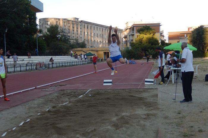 Filippo Gangemi campione siciliano Juniores nel triplo