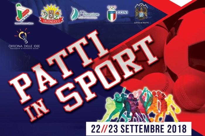 """""""Patti in Sport"""", due giorni dedicati alla pratica sportiva"""