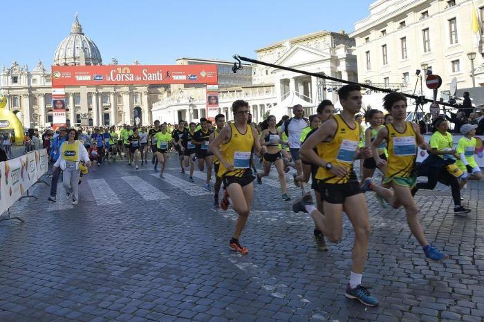 Corsa dei Santi per 7000 runners