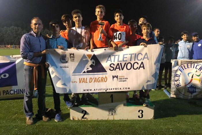 Attilio Triolo campione regionale Ragazzi di prove multiple