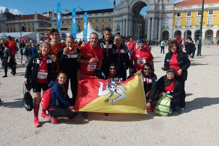La Polisportiva Monfortese Running alla Mezza Maratona di Lisbona