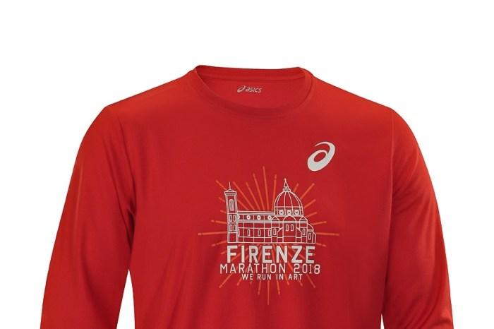 """La maglia ufficiale della """"Firenze Marathon 2018"""""""