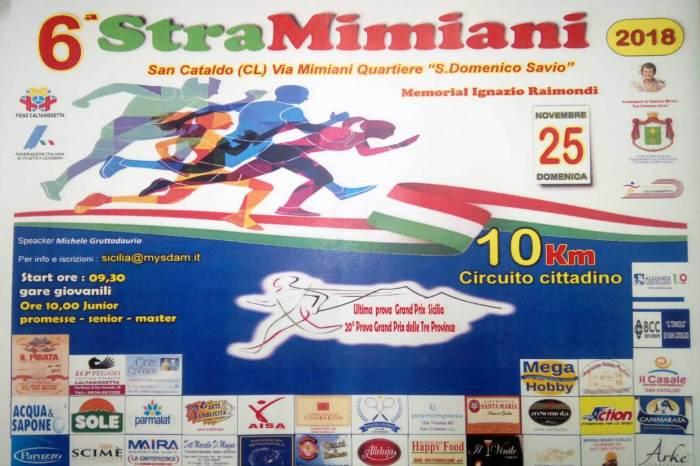 A San Cataldo la sesta edizione della Stramimiani