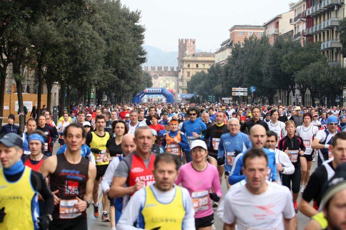 Verona Marathon, tre gare ed una città