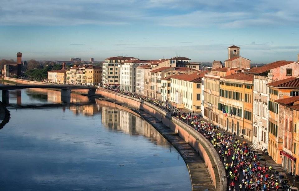 E' record per la 20^ Maratona di Pisa con oltre 1900 iscritti