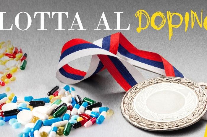 """Ripartito nelle scuole il progetto """"Lotta al doping"""""""