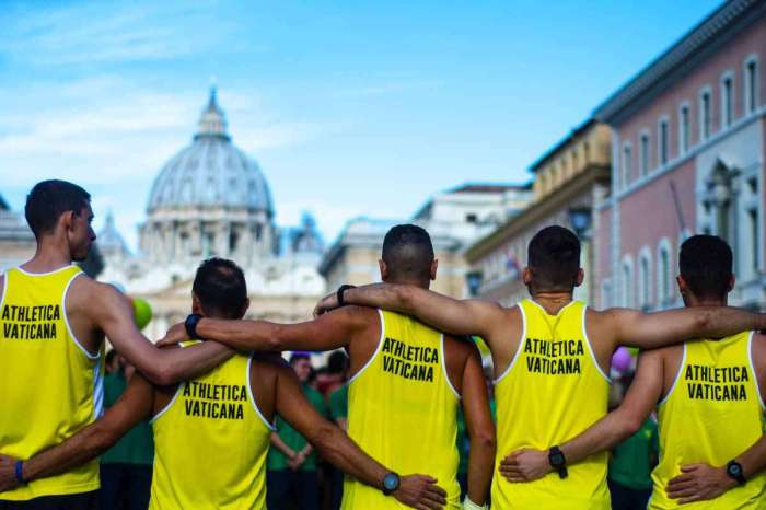 A Roma il 6 aprile la Messa del maratoneta