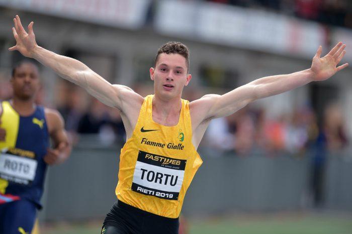 Filippo Tortu verso il rientro: 100 a Rovereto