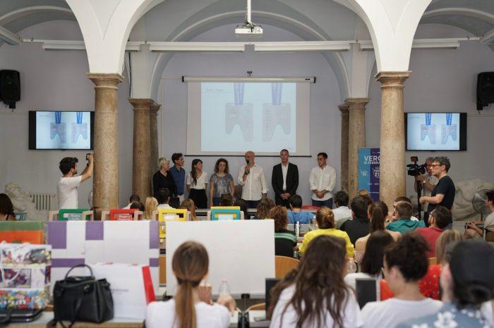 """Medaglia interattiva per la """"Giulietta&Romeo Half Marathon"""""""