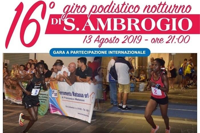 """Cresce l'attesa per il """"16° Giro Podistico di Sant'Ambrogio"""""""