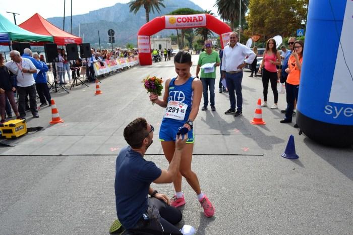 """Matrimonio di """"corsa"""" con il profumo della Sicilia"""