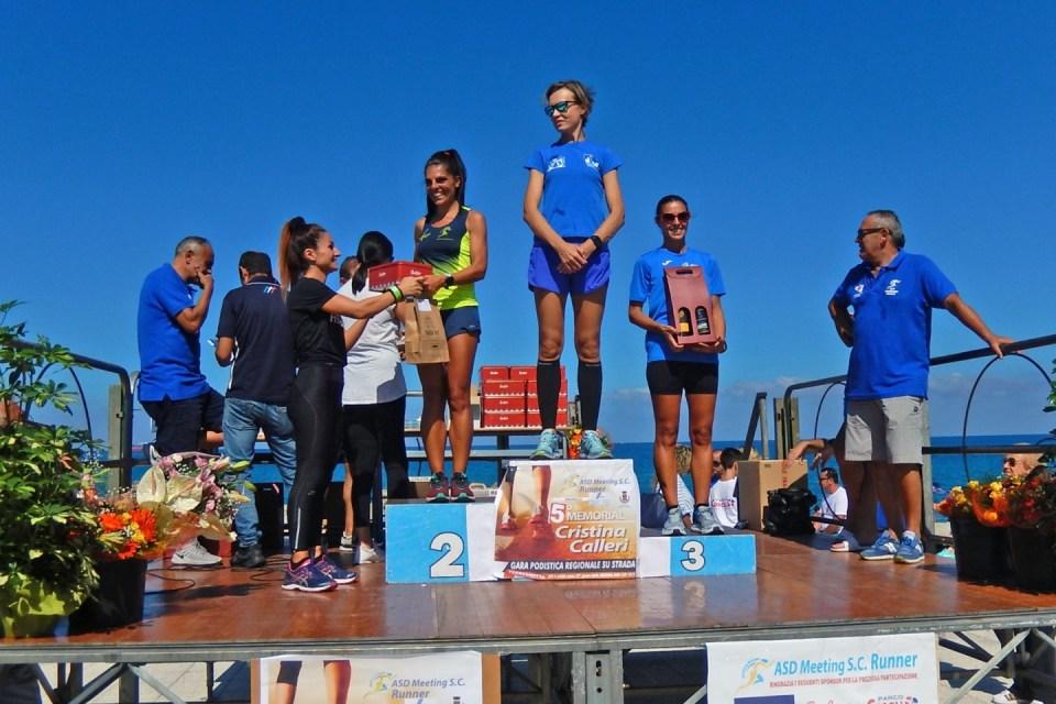 Foto Premiazione 5° Memorial Cristina Calleri